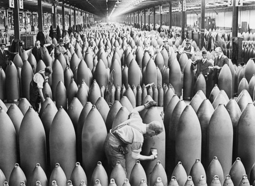How Arms Companies Fuelled and Exacerbated the First World War